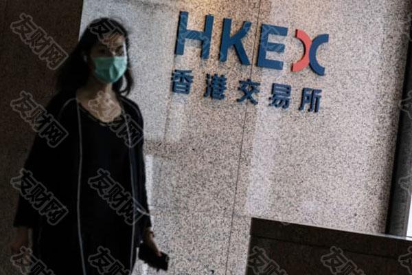 香港交易所的香港交易及结算所有限公司(港交所)的标牌d.jpg