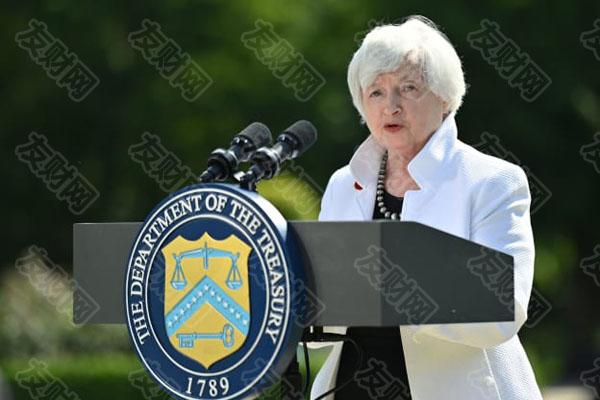 """美国财长耶伦关于""""利率略微上升的环境""""可能指的是长期利率"""